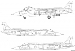 yakovlev yak 141 x model airplane plan