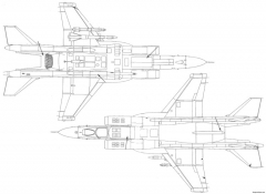 yakovlev yak 141 x 2 model airplane plan