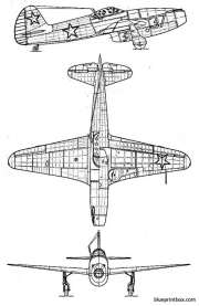 yakovlev yak 15 model airplane plan