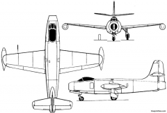 yakovlev yak 19 1947 russia model airplane plan
