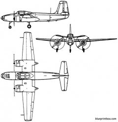 yakovlev yak 200 1953 russia model airplane plan