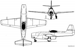 yakovlev yak 23 1948 russia model airplane plan