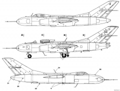 yakovlev yak 2527 15 model airplane plan