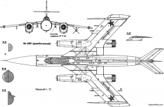 yakovlev yak 28p 2 model airplane plan