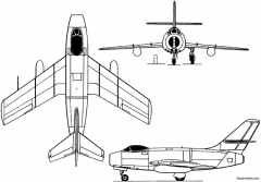 yakovlev yak 30 1948 russia model airplane plan