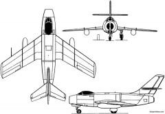 yakovlev yak 30 1948 russia model airplane plan