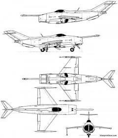 yakovlev yak 36 freehand model airplane plan