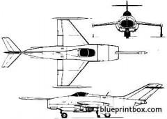 yakovlev yak 36 freehand 2 model airplane plan