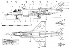 yakovlev yak 38 4 model airplane plan
