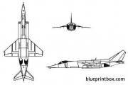 yakovlev yak 38 forger model airplane plan