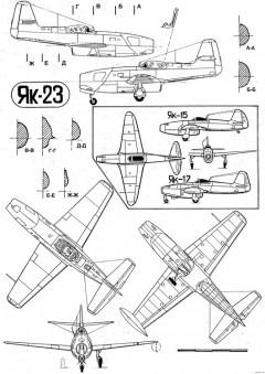 yakovlev yak 3 2 model airplane plan