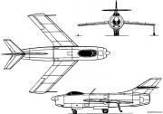 yakovlev yak 50 1949 russia model airplane plan
