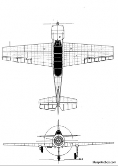 yakovlev yak 52 2 model airplane plan