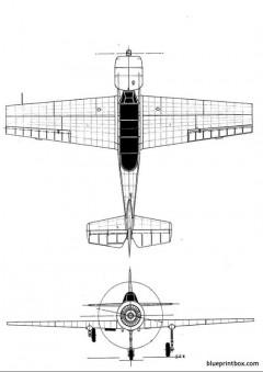 yakovlev yak 52 2 model airplane plan