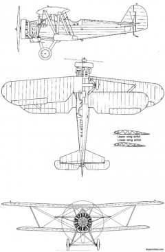 yokosuka k5y1 willow model airplane plan