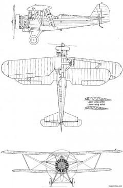 yokosuka k5y1 willow model airplane plan