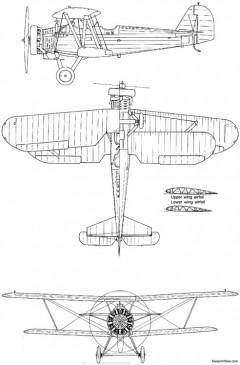 yokosuka k5y1 willow camouflage model airplane plan
