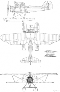 yokosuka k5y2 combo model airplane plan