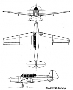 z226b 3v model airplane plan