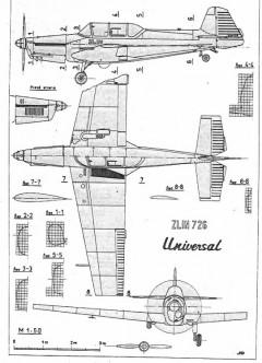 z726 3v model airplane plan