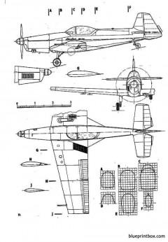zlinz 526afs akrobat model airplane plan