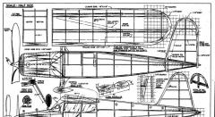 125 1 model airplane plan