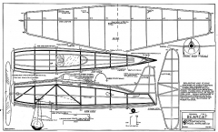 24in Bearcat model airplane plan