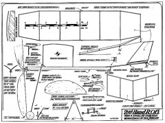 2nd Hand - ROG rubber by Frank Zaic model airplane plan