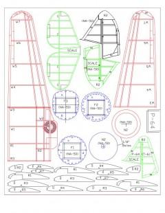 AT-68-Model 2 model airplane plan