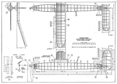 Akron Favorite p1 model airplane plan