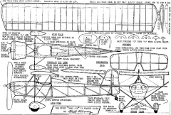 Babyace model airplane plan