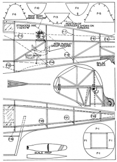 Boeing XP-940 p2 model airplane plan