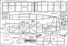 Born Loser P-6E model airplane plan
