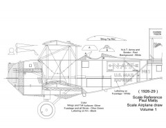 Carrier2 model airplane plan