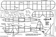 Comper model airplane plan