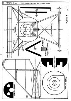 D8 4 model airplane plan