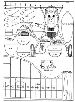 Douglas O-43A p4 model airplane plan