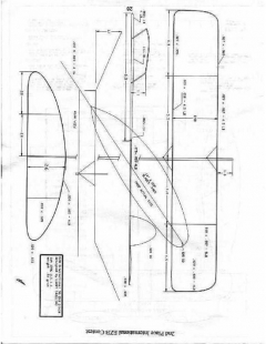 EZB Larry Calliau - EZB model airplane plan