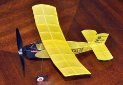 Durham Mystery model airplane plan