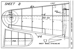 Fairey Battle p3 model airplane plan