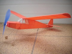 Ginasial model airplane plan
