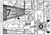 Grumman Fighter p3 model airplane plan