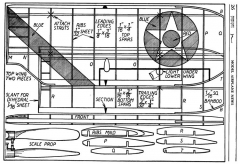 Grumman Fighter p4 model airplane plan