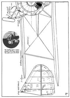 Gulfhawk p1 model airplane plan