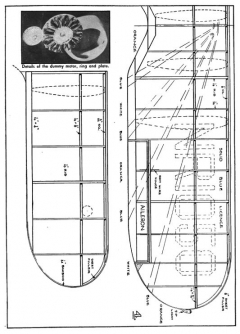 Gulfhawk p4 model airplane plan