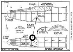 Gypsy p1 model airplane plan
