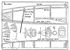 Huri1 model airplane plan