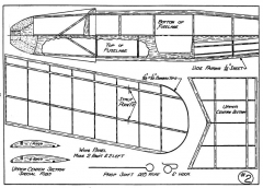 Jungmeister p2 model airplane plan