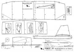 MICRO35 Edmond Roch - First 35 model airplane plan