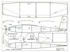 moskyt model airplane plan